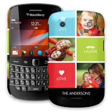 Bright Live Laugh Love BlackBerry 9900/9930 Bold ColorStrong Slim-Pro Case