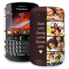 Chocolate Live Laugh Love BlackBerry 9900/9930 Bold ColorStrong Slim-Pro Case