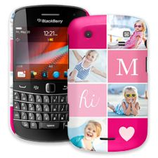 Strawberry Squares BlackBerry 9900/9930 Bold ColorStrong Slim-Pro Case