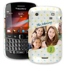 Polka Dot Muslin BlackBerry 9900/9930 Bold ColorStrong Slim-Pro Case