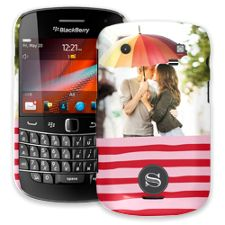 Raspberry Waves BlackBerry 9900/9930 Bold ColorStrong Slim-Pro Case