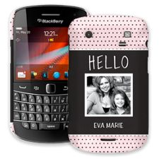 Retro Dots BlackBerry 9900/9930 Bold ColorStrong Slim-Pro Case