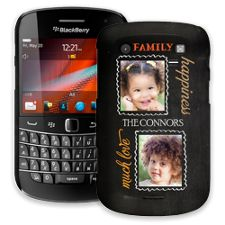 Family Portrait Duo BlackBerry 9900/9930 Bold ColorStrong Slim-Pro Case