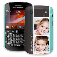 Racing Stripes BlackBerry 9900/9930 Bold ColorStrong Slim-Pro Case