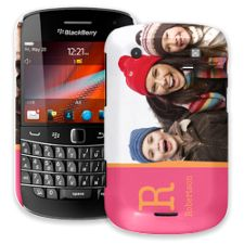 Rainbow Sherbet BlackBerry 9900/9930 Bold ColorStrong Slim-Pro Case
