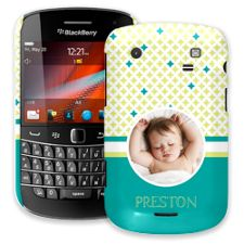 Teal Dreams BlackBerry 9900/9930 Bold ColorStrong Slim-Pro Case