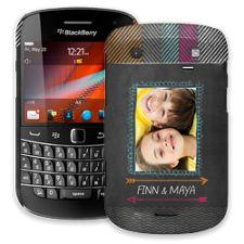 Chevron Chalkboard BlackBerry 9900/9930 Bold ColorStrong Slim-Pro Case