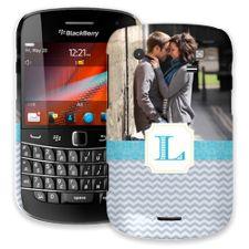 Chevron Initial BlackBerry 9900/9930 Bold ColorStrong Slim-Pro Case