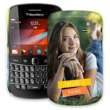 Retro Label BlackBerry 9900/9930 Bold ColorStrong Slim-Pro Case
