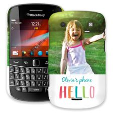 Crayon Hello BlackBerry 9900/9930 Bold ColorStrong Slim-Pro Case