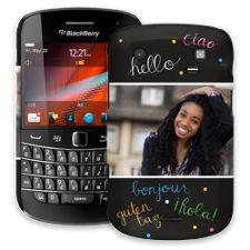 Neon Hello BlackBerry 9900/9930 Bold ColorStrong Slim-Pro Case
