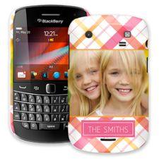 Pink Plaid BlackBerry 9900/9930 Bold ColorStrong Slim-Pro Case