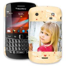 Honey Wheat Heart BlackBerry 9900/9930 Bold ColorStrong Slim-Pro Case