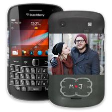 Chalkboard Love BlackBerry 9900/9930 Bold ColorStrong Slim-Pro Case