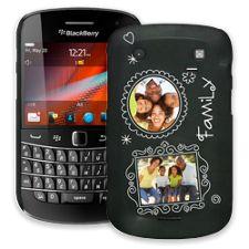 Chalk Portraits Trio BlackBerry 9900/9930 Bold ColorStrong Slim-Pro Case