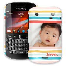 Wavy Stripes BlackBerry 9900/9930 Bold ColorStrong Slim-Pro Case