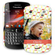Retro Blocks BlackBerry 9900/9930 Bold ColorStrong Slim-Pro Case