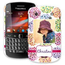 Chrysanthemum Fireworks BlackBerry 9900/9930 Bold ColorStrong Slim-Pro Case