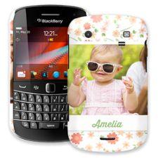 Sweet Floral BlackBerry 9900/9930 Bold ColorStrong Slim-Pro Case