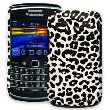 Black and White Leopard BlackBerry 9700 ColorStrong Slim-Pro Case