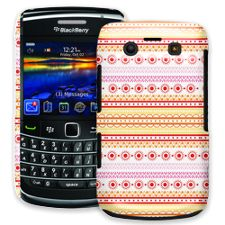 Orange Tribal BlackBerry 9700 ColorStrong Slim-Pro Case