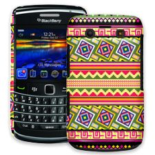 Happy Bright Tribal BlackBerry 9700 ColorStrong Slim-Pro Case