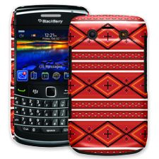 Red and White Tribal BlackBerry 9700 ColorStrong Slim-Pro Case