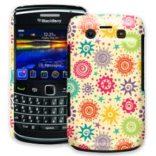 Tribal Sun Pattern BlackBerry 9700 ColorStrong Slim-Pro Case