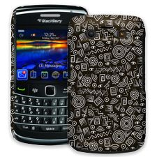 Black and White Tribal BlackBerry 9700 ColorStrong Slim-Pro Case