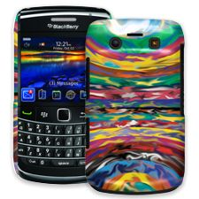 Psychedelic Paint Swirls BlackBerry 9700 ColorStrong Slim-Pro Case
