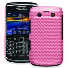 Pink Waves BlackBerry 9700 ColorStrong Slim-Pro Case