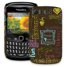Friends Neon BlackBerry 8520 Curve ColorStrong Slim-Pro Case