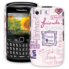 Friends Pink BlackBerry 8520 Curve ColorStrong Slim-Pro Case
