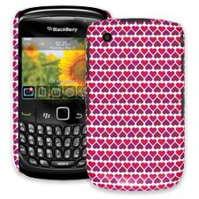 Hearts White BlackBerry 8520 Curve ColorStrong Slim-Pro Case