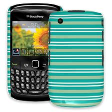 Striped Ocean BlackBerry 8520 Curve ColorStrong Slim-Pro Case