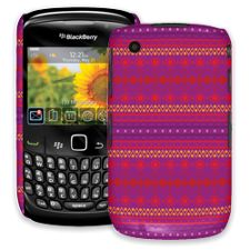 Purple Tribal BlackBerry 8520 Curve ColorStrong Slim-Pro Case