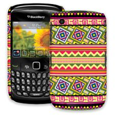 Happy Bright Tribal BlackBerry 8520 Curve ColorStrong Slim-Pro Case