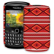 Red and White Tribal BlackBerry 8520 Curve ColorStrong Slim-Pro Case