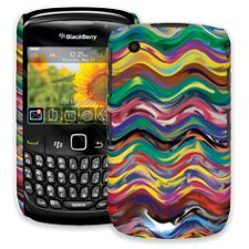 Wavy Paint Swirls BlackBerry 8520 Curve ColorStrong Slim-Pro Case