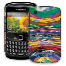 Psychedelic Paint Swirls BlackBerry 8520 Curve ColorStrong Slim-Pro Case