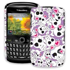Skull Princess BlackBerry 8520 Curve ColorStrong Slim-Pro Case