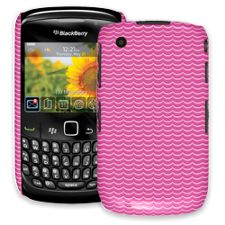 Pink Waves BlackBerry 8520 Curve ColorStrong Slim-Pro Case