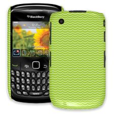 Lime Waves BlackBerry 8520 Curve ColorStrong Slim-Pro Case