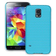 Blue Waves Samsung Galaxy S5 ColorStrong Slim-Pro Case