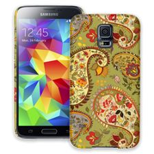 Organic Floral Sage Paisley Samsung Galaxy S5 ColorStrong Slim-Pro Case