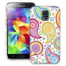 Rainbow Paisley Samsung Galaxy S5 ColorStrong Slim-Pro Case