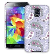 Sophisticated Lavender Paisley Samsung Galaxy S5 ColorStrong Slim-Pro Case