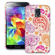 Purple and Pink Paisley Samsung Galaxy S5 ColorStrong Slim-Pro Case