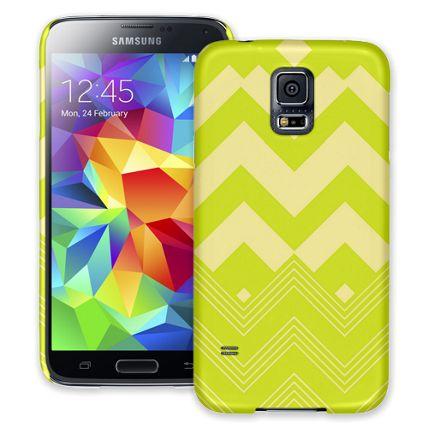 Citrus Clash Chevron Samsung Galaxy S5 ColorStrong Slim-Pro Case