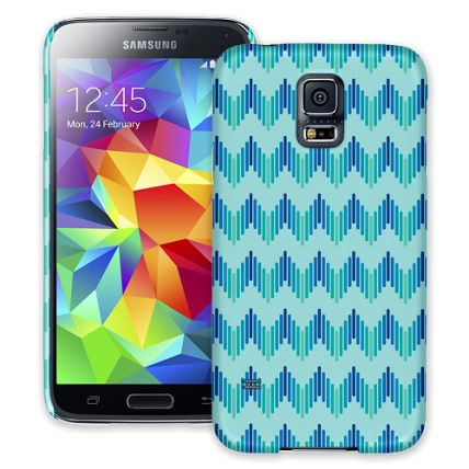 Amplified Chevron Samsung Galaxy S5 ColorStrong Slim-Pro Case